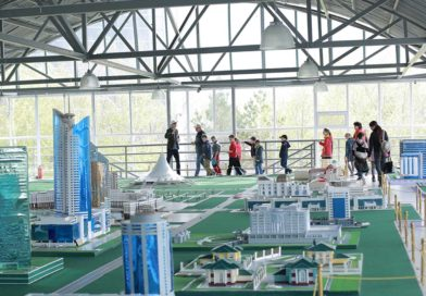 "THE OPENING OF THE ETHNO-MEMORIAL COMPLEX ""MAP OF KAZAKHSTAN ""ATAMEKEN"""