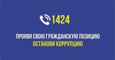 АНТИКОРРУПЦИОННАЯ СЛУЖБА. ФУНКЦИОНИРУЕТ САLL-ЦЕНТР «1424»