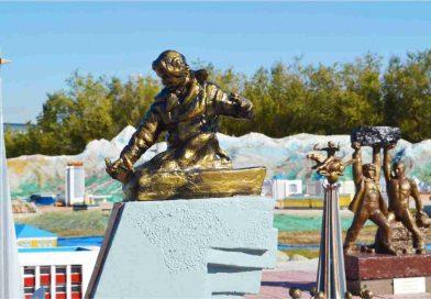 MONUMENT TO NURKEN ABDIROV